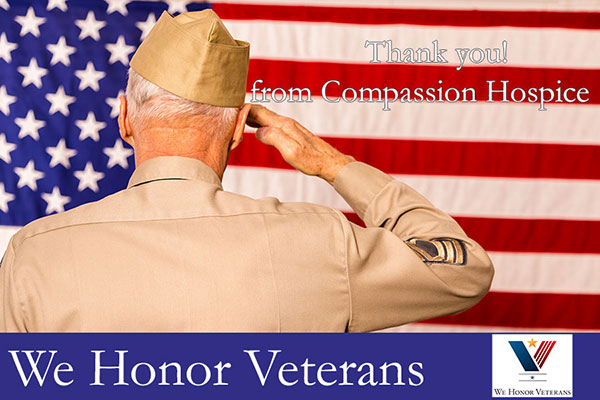 Compassion Hospice Salutes Veterans